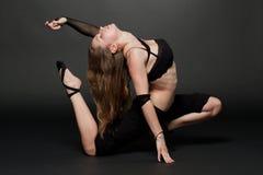 Yoga en geschiktheid. Stock Foto's