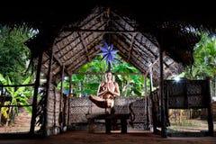Yoga en Inde Photos libres de droits