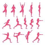 Yoga en naturaleza Fotografía de archivo