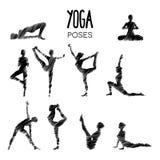 Yoga en nature Images stock