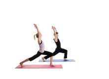 Yoga et unité Images libres de droits