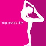 Yoga every day Stock Photos