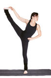 Yoga excercising Royalty Free Stock Images