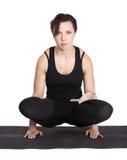 Yoga excercising Stock Photo