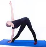 Yoga exercise Stock Photos