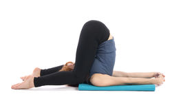 Yoga Exercise Stock Image