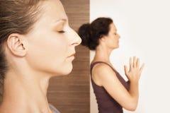 Yoga Exercise stock image