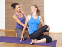 Yoga Exercise royalty free stock images