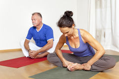 Yoga Exercise Stock Images