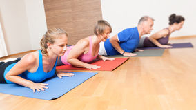 Yoga Exercise Royalty Free Stock Photography