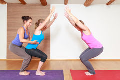 Yoga Exercise Stock Photography