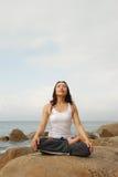 Yoga Exerciser Royalty Free Stock Photography