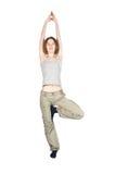 Yoga exercises. Stock Image