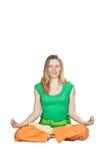 Yoga exercises. Stock Photo