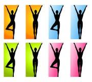 yoga för kantdanskondition Royaltyfria Foton
