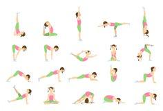 Yoga für Kinder Lizenzfreie Stockfotos