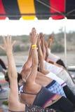 Yoga Festival Class Stock Photography