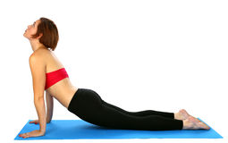Yoga figure Royalty Free Stock Photos