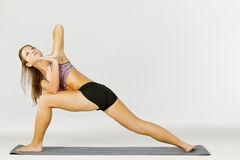 Yoga Fitness Model Stock Photography