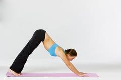 Yoga Fitness Model Royalty Free Stock Photos