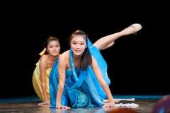 Yoga--Folk Dance Stock Photo
