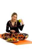 Yoga food concept Royalty Free Stock Photo