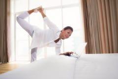 yoga fotografia stock