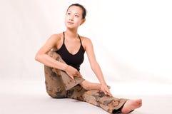 Yoga girl Royalty Free Stock Photos