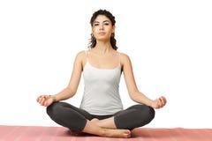 Yoga girl Royalty Free Stock Image