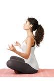 Yoga girl Royalty Free Stock Photography