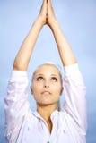 Yoga girl Royalty Free Stock Photo