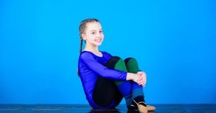 Yoga gives energy. Fitness diet. Energy. Sport and health. Acrobatics gym workout of teen girl. Gymnastics. Happy child. Sportsman. success. Childhood activity royalty free stock photo