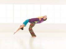 Yoga gym vibrant color Stock Photos