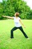 Yoga-Haltung Lizenzfreie Stockfotografie