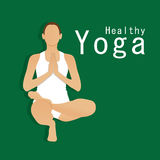 Yoga Healthy Royalty Free Stock Images