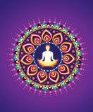 Yoga Icon Stock Photo
