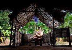 Yoga in India Royalty Free Stock Photo