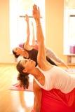 Yoga instructor Royalty Free Stock Photos