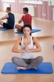 Yoga instructor Royalty Free Stock Image