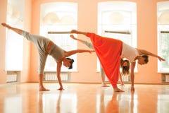 Yoga klassificerar Arkivbilder