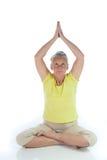 Yoga lady Stock Images