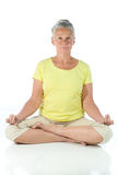 Yoga lady Royalty Free Stock Photo