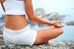 Yoga lifestyle woman Stock Photography