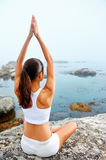 Yoga lifestyle woman Royalty Free Stock Photos