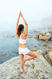 Yoga lifestyle woman Royalty Free Stock Images
