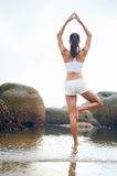 Yoga lifestyle woman Royalty Free Stock Photography