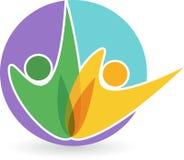 Yoga logo Stock Photo