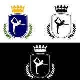 Yoga-logo Royalty Free Stock Image
