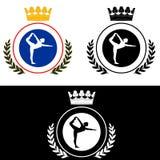 Yoga-logo Royalty Free Stock Photo