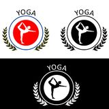 Yoga-logo Royalty Free Stock Photos